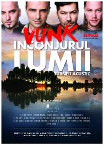 main VUNK- turneu acustic